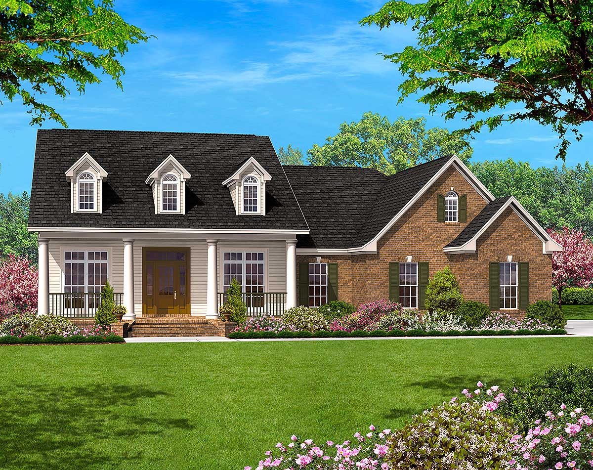 great floor plans great open floor with options 11704hz architectural designs house plans 4642