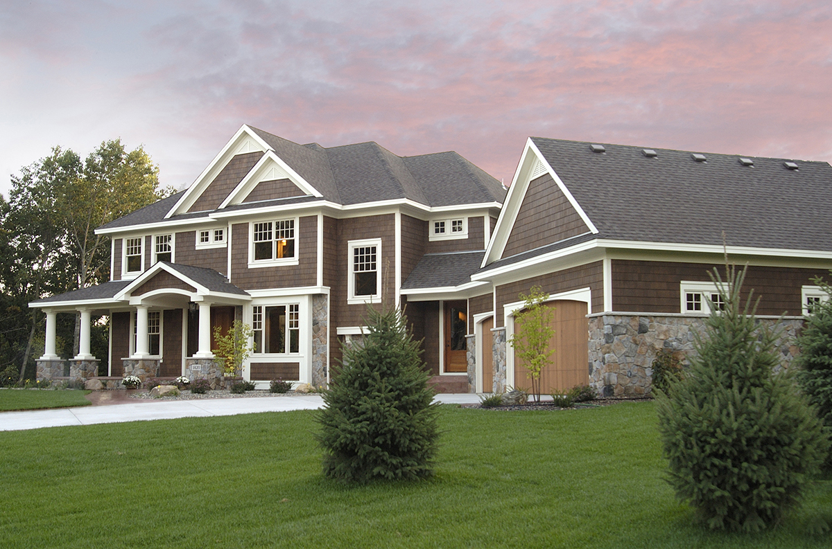 Luxurious Craftsman Home Plan 14419rk Architectural