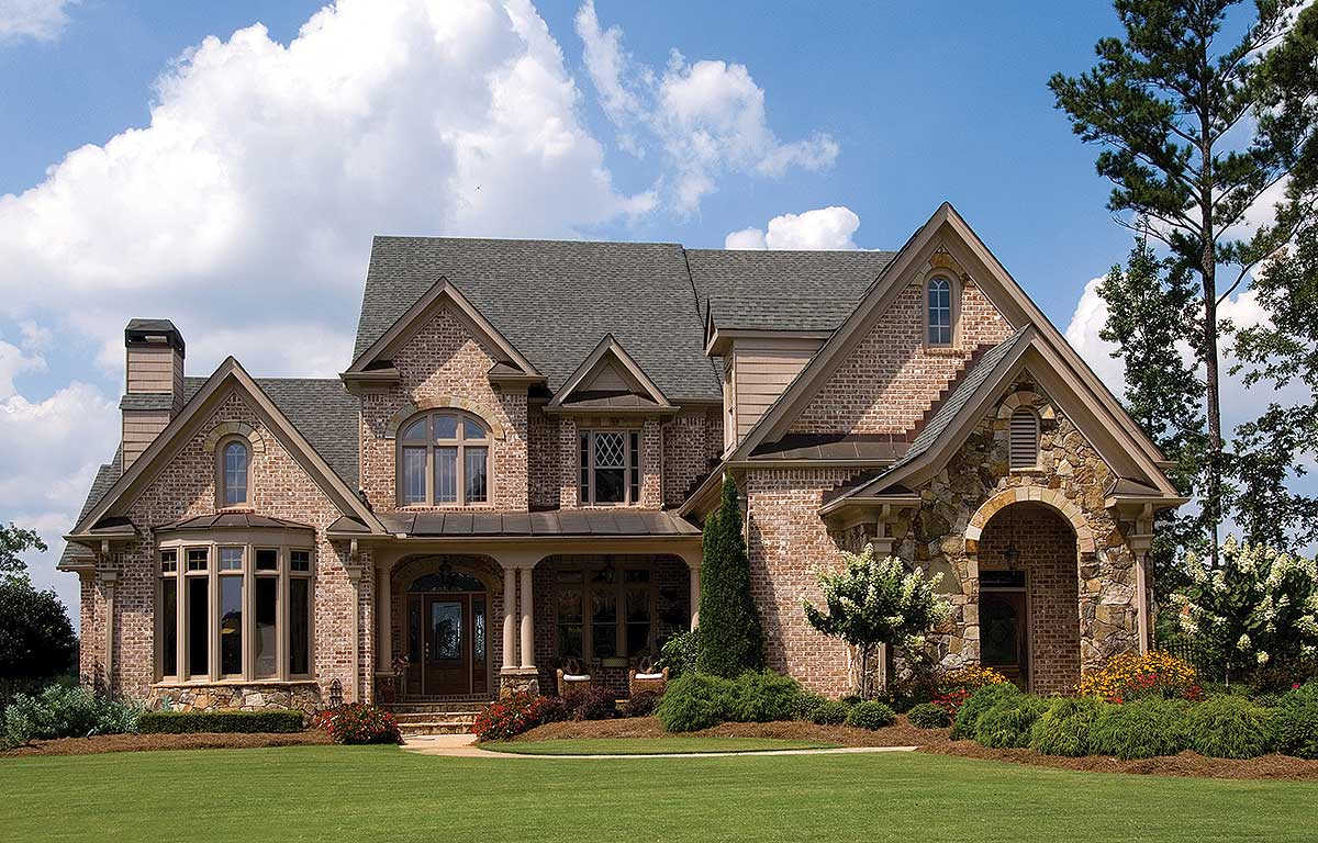 Charming French European House Plan
