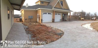 House Plan 15651GE comes to life in Texas - photo 003