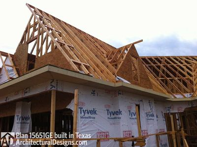 House Plan 15651GE comes to life in Texas - photo 002