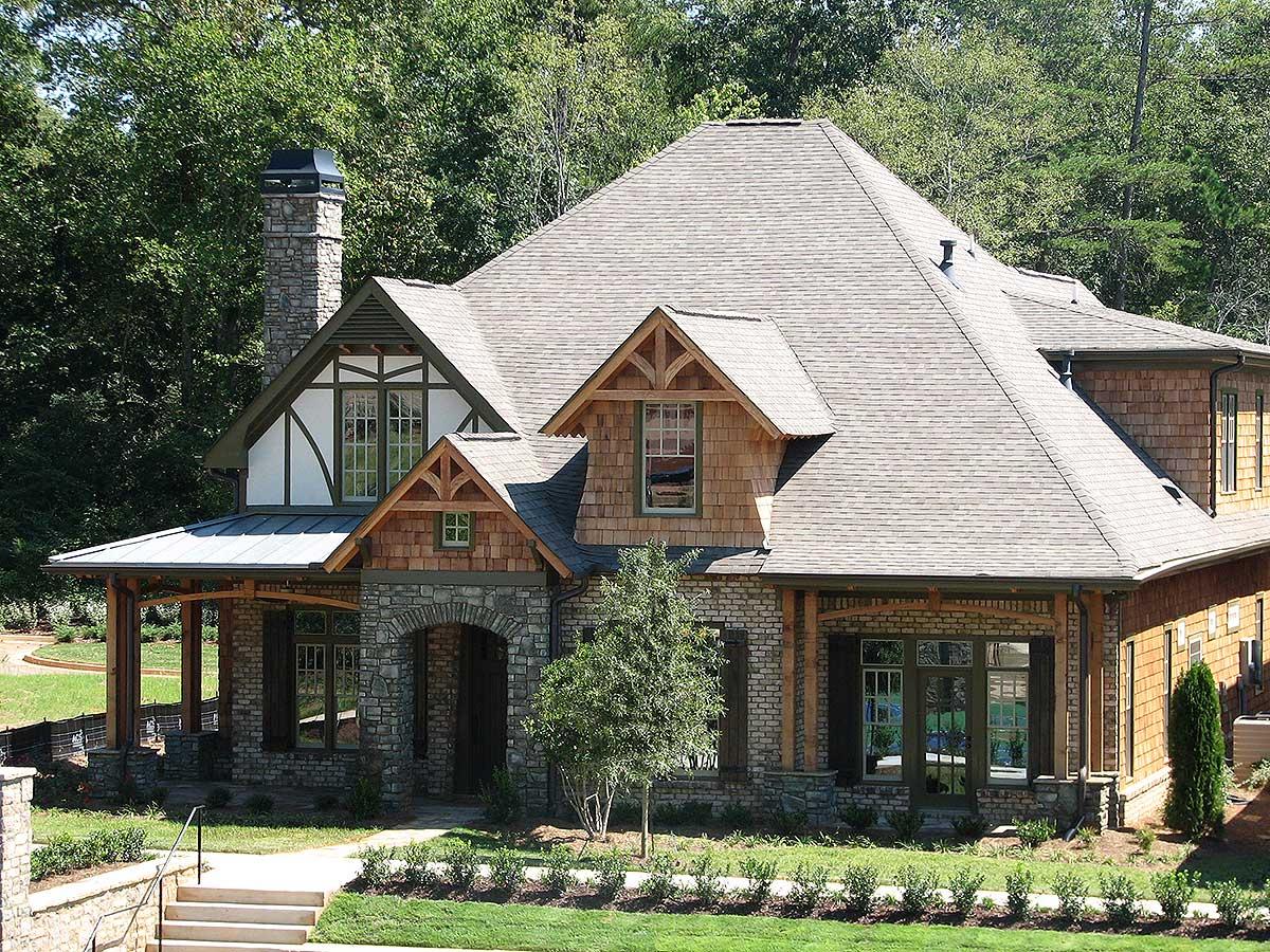 Eye Catching Cottage 15693ge Architectural Designs