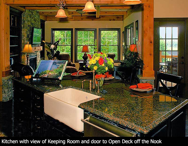 Plan 15793GE: Stunning Mountain Ranch Home Plan on
