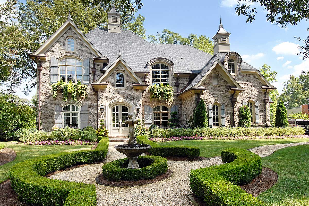 Old World Exterior - 15807GE | Architectural Designs ...