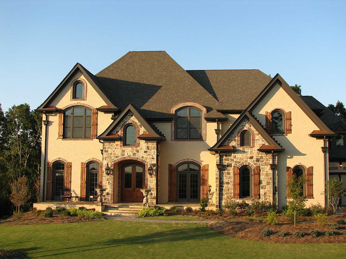 Stunning European Home Plan - 15835GE