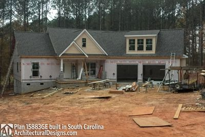 House Plan 15883GE comes to life in South Carolina - photo 045