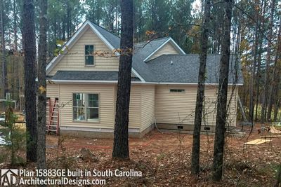 House Plan 15883GE comes to life in South Carolina - photo 006