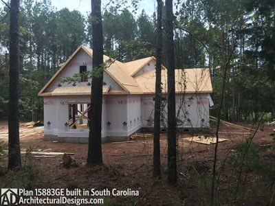 House Plan 15883GE comes to life in South Carolina - photo 054