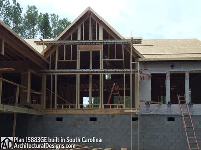 House Plan 15883GE comes to life in South Carolina - photo 055