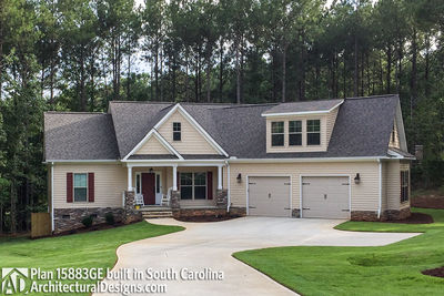 House Plan 15883GE comes to life in South Carolina - photo 001