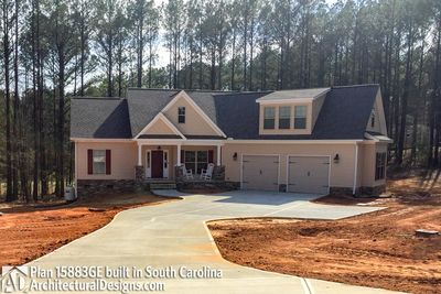 House Plan 15883GE comes to life in South Carolina - photo 005