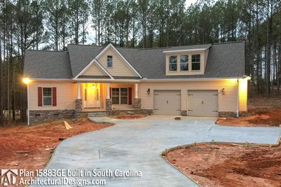 House Plan 15883GE comes to life in South Carolina - photo 004