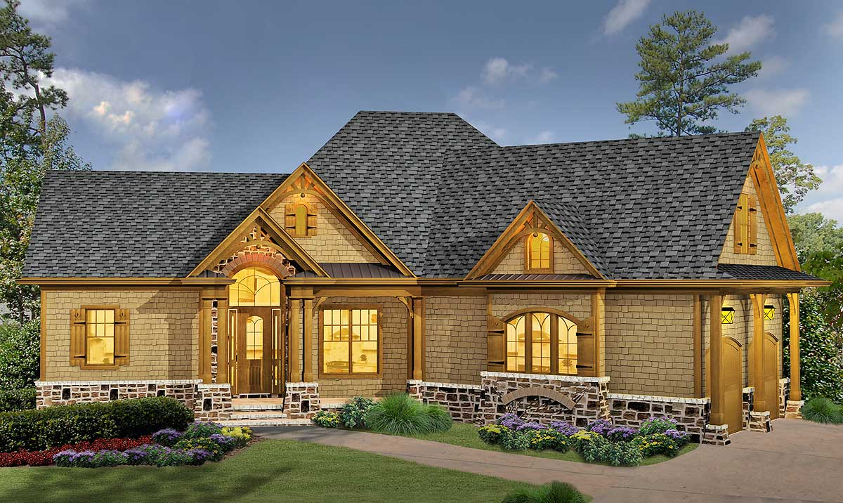 Classic Hip Roofed Cottage With Options
