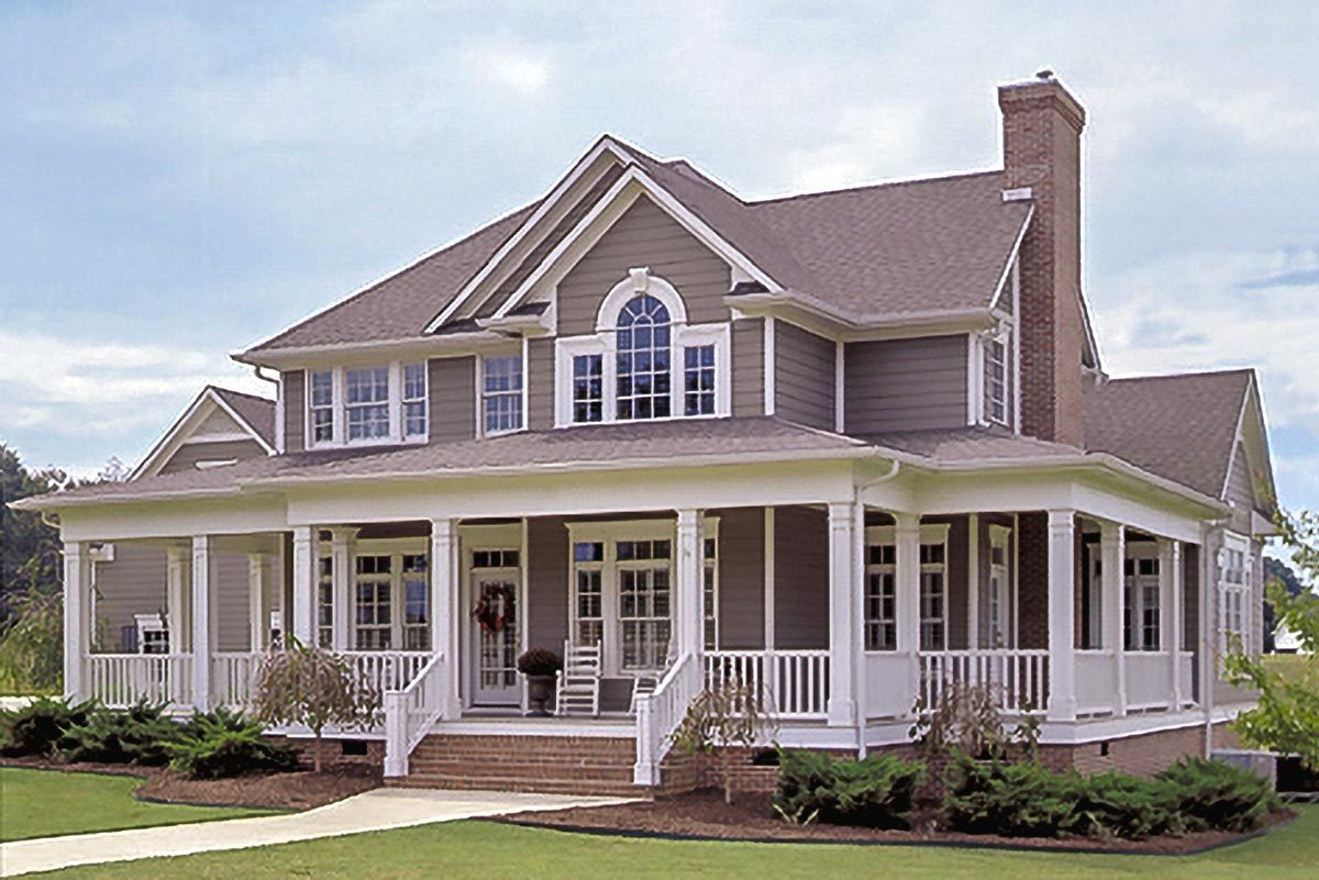 Plans With Wraparound Porches