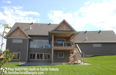 House Plan 16807wg Comes To Life In South Dakota On A