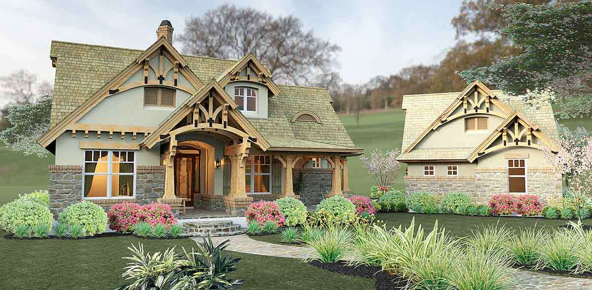 Rustic Look with Detached Garage WG