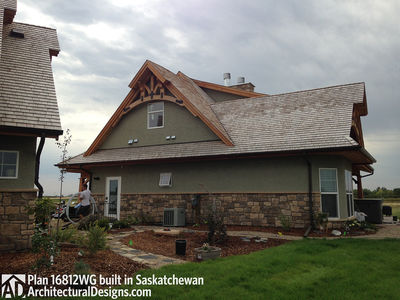 House Plan 16812WG Client-Built In Saskatchewan - photo 011