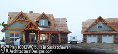 House Plan 16812WG Client-Built In Saskatchewan - photo 001