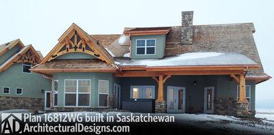 House Plan 16812WG Client-Built In Saskatchewan - photo 002