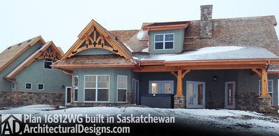 House Plan 16812WG Client-Built In Saskatchewan - photo 003
