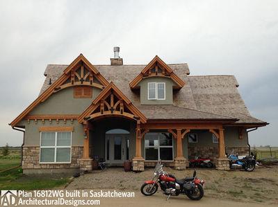 House Plan 16812WG Client-Built In Saskatchewan - photo 005
