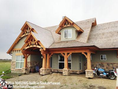 House Plan 16812WG Client-Built In Saskatchewan - photo 006