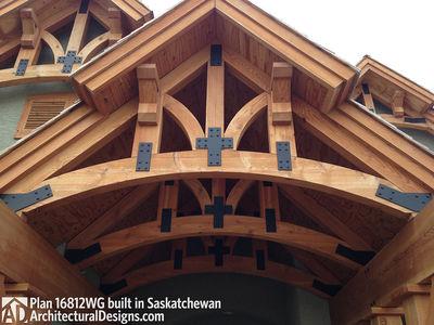 House Plan 16812WG Client-Built In Saskatchewan - photo 007