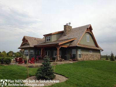 House Plan 16812WG Client-Built In Saskatchewan - photo 009