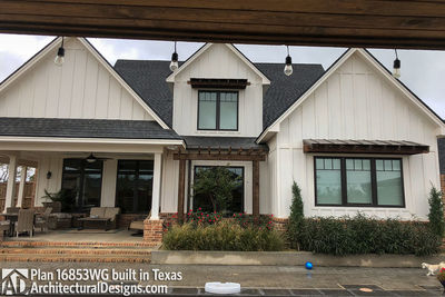 House Plan 16853WG comes to life in Texas! - photo 006