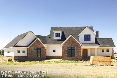 House Plan 16853WG comes to life in Texas! - photo 012