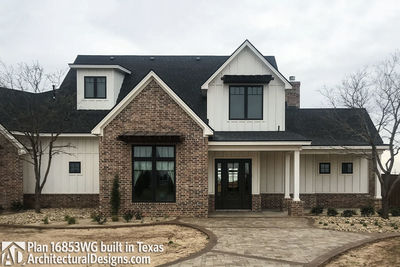 House Plan 16853WG comes to life in Texas! - photo 009