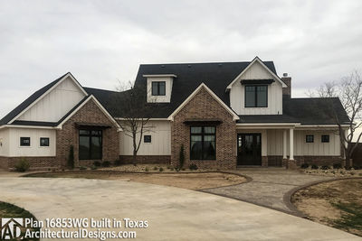 House Plan 16853WG comes to life in Texas! - photo 008