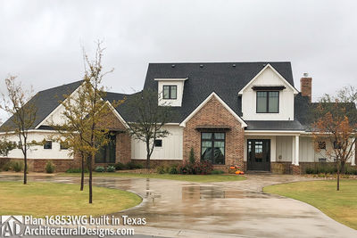 House Plan 16853WG comes to life in Texas! - photo 003