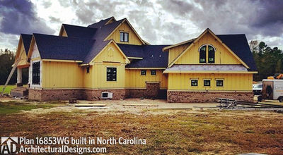 Modern Farmhouse Plan 16853WG comes to life in North Carolina - photo 010