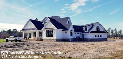Modern Farmhouse Plan 16853WG comes to life in North Carolina - photo 005