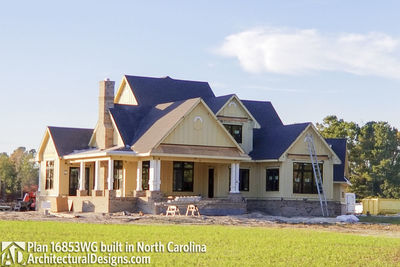 Modern Farmhouse Plan 16853WG comes to life in North Carolina - photo 011
