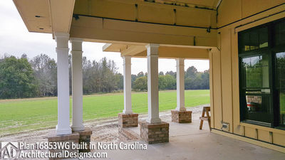 Modern Farmhouse Plan 16853WG comes to life in North Carolina - photo 012