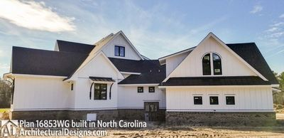 Modern Farmhouse Plan 16853WG comes to life in North Carolina - photo 004