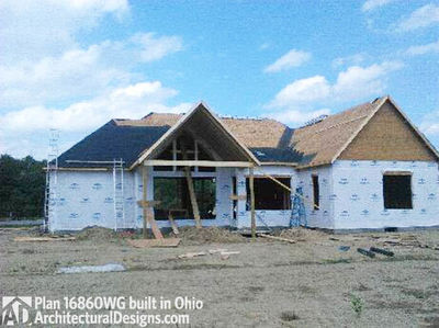 House Plan 16860WG comes to life in Ohio! - photo 039