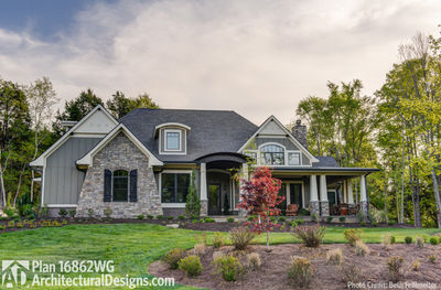House Plan 16862WG Comes to Life in Tennessee! - photo 001