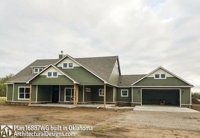 House Plan 16887WG comes to life in Oklahoma! - photo 013
