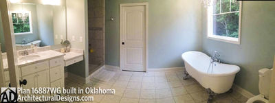 House Plan 16887WG comes to life in Oklahoma! - photo 009