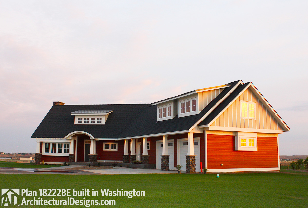 House Plan 18222BE comes to life in Washington - photo 001