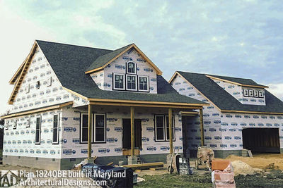 House Plan 18240BE comes to life in Maryland - photo 001