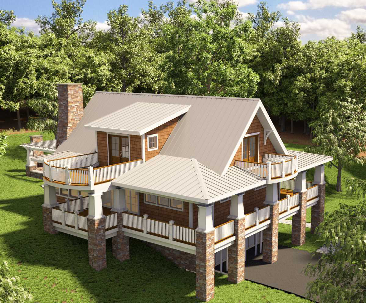 Adorable Cottage With Wraparound Porch 18251be Architectural Designs House Plans