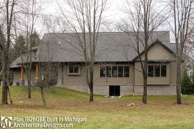 House Plan 18260BE comes to life in Michigan - photo 004