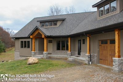 House Plan 18260BE comes to life in Michigan - photo 008