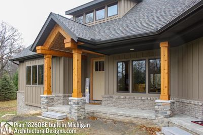 House Plan 18260BE comes to life in Michigan - photo 009
