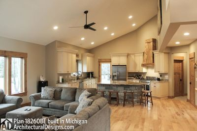 House Plan 18260BE comes to life in Michigan - photo 013