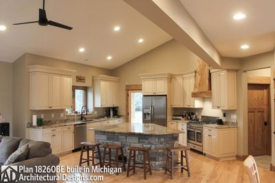 House Plan 18260BE comes to life in Michigan - photo 014